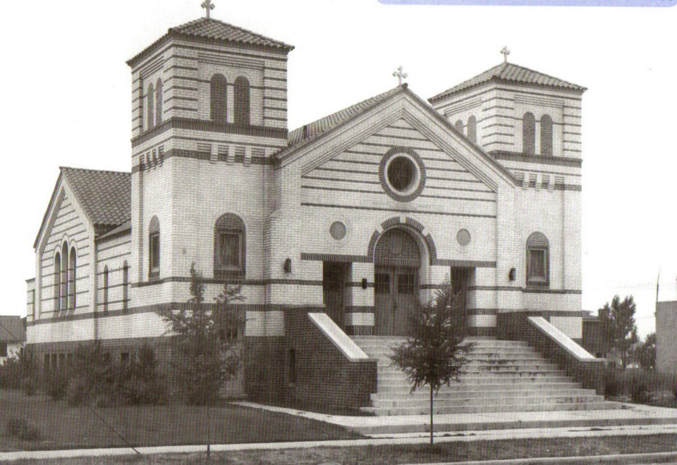 Saints Constantine and Helen circa 1925 (Photo Credit Andy Pappas)